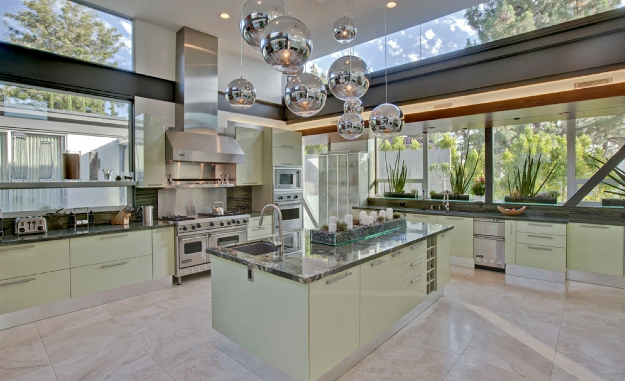 Ashton Kutcher Kitchen