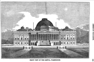 U.S. Capitol in 1835 | Before Renovation of the 1850s