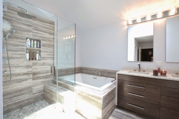Two Bathroom Remodels